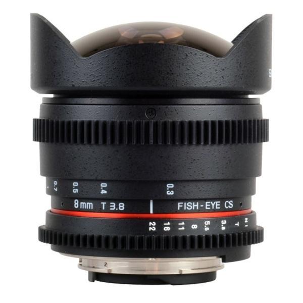 Samyang Objetivo Nikon   8mm T3.8 Fisheye VDSLR