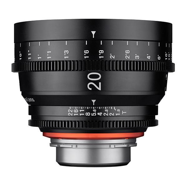 Samyang XEEN Canon  20mm T1.9 Cine -