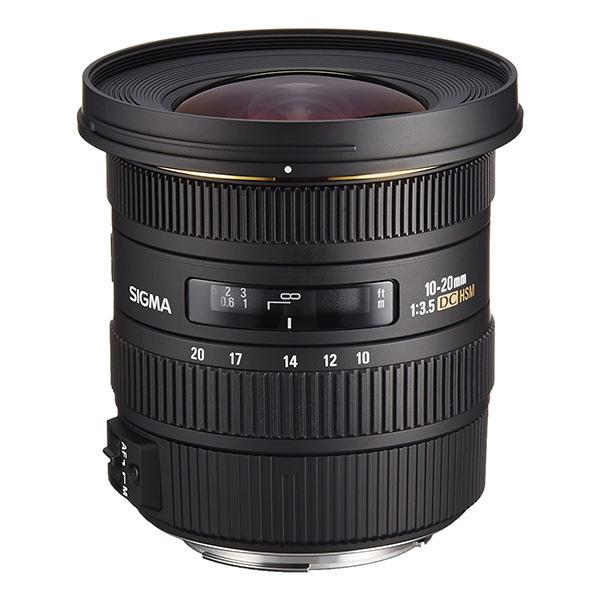 Sigma DC  10-20mm f3.5 HSM EX Canon EOS