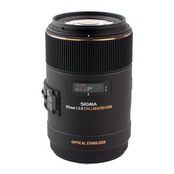 Sigma DG 105mm f2.8 Macro EX  OS HSM Canon