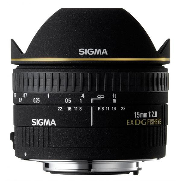Sigma DG  15mm f2.8 EX  Ojo de Pez diagonal Nikon