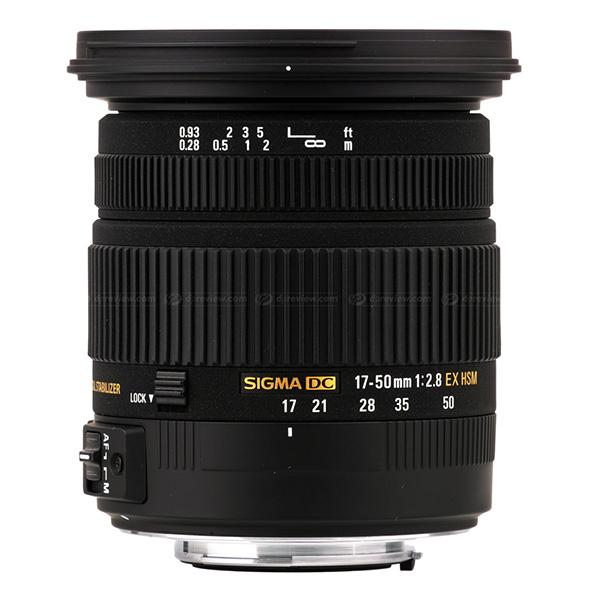 Sigma DC  17-50mm f2.8 EX  OS HSM  Canon -