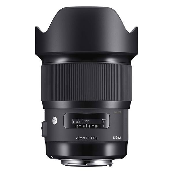 Objetivo Sigma DG  20mm f1.4 Art HSM Nikon