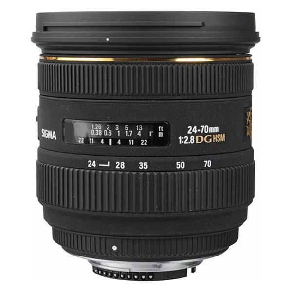 Sigma DG  24-70mm f2.8 IF EX  HSM Canon
