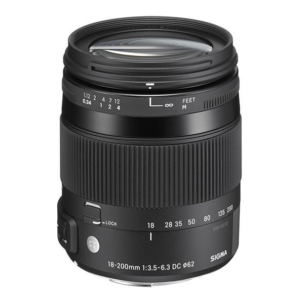 Sigma Objetivo DC  18-200mm f3.5-6.3 Contemporany Macro OS Canon
