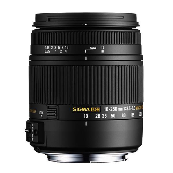Sigma Objetivo DC  18-250mm f3.5/6.3 OS Macro HSM Canon