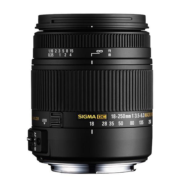 Sigma Objetivo DC  18-250mm f3.5/6.3 OS Macro HSM Nikon