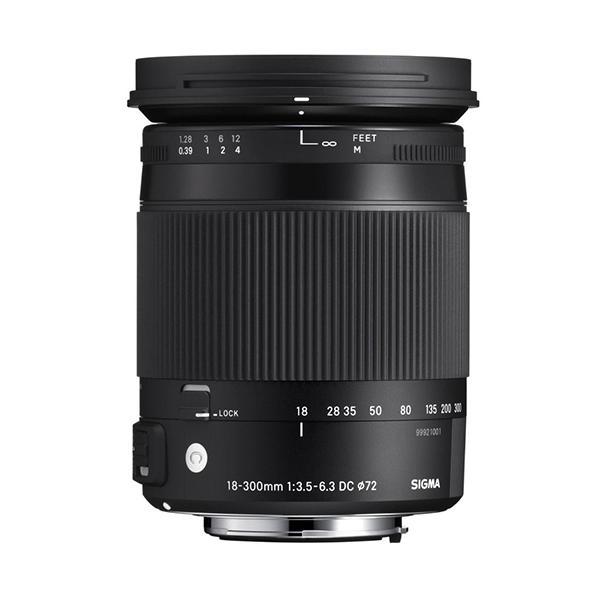 Sigma DC  18-300mm f3.5-6.3 Contemporany Macro OS Canon