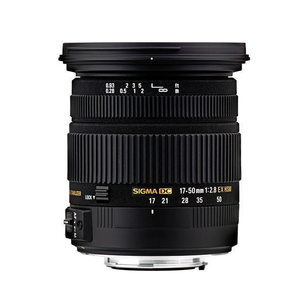 Sigma DC  17-50mm f2.8 EX  OS HSM  Nikon