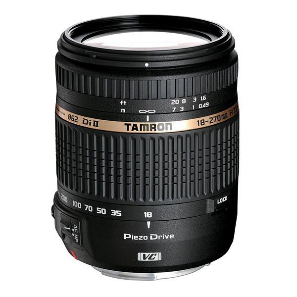 Tamron Objetivo AF  18-270mm f3.5-5.6 Nikon Di II VC PZD