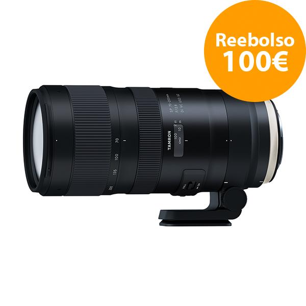 Tamron Objetivo SP   70-200 f2.8 Nikon G2 Di VC USD - Reembolso de 100€ para compras realizadas del  1/11/2018 al 5/06/2019. Registros realizados antes del 11/01/2019.