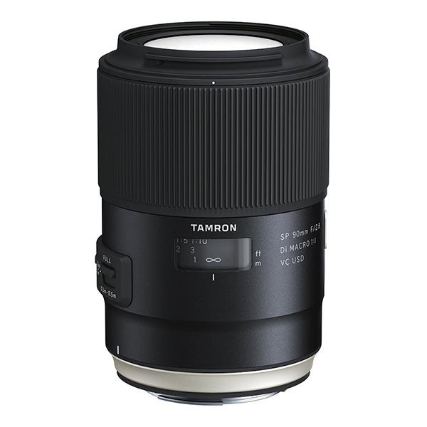 Tamron Objetivo SP   90mm f2.8 Nikon Di Macro VC USD New