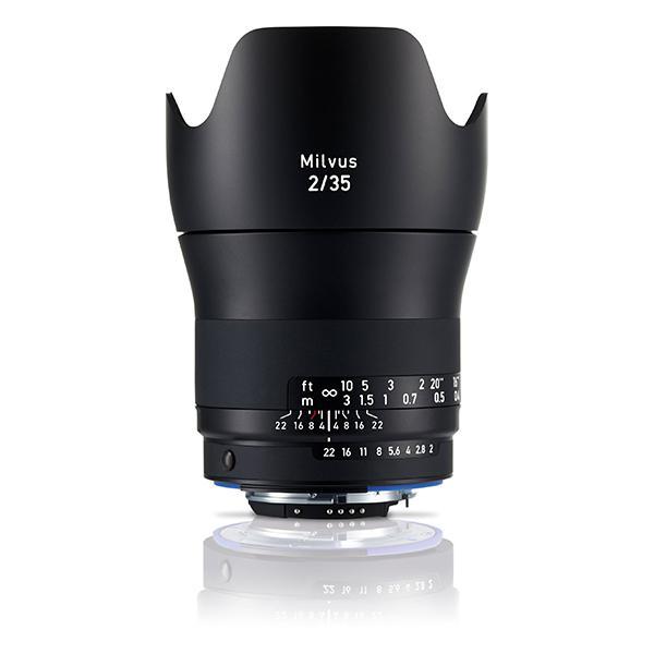 Zeiss Objetivo Milvus 2.0/35mm ZE p/ Canon