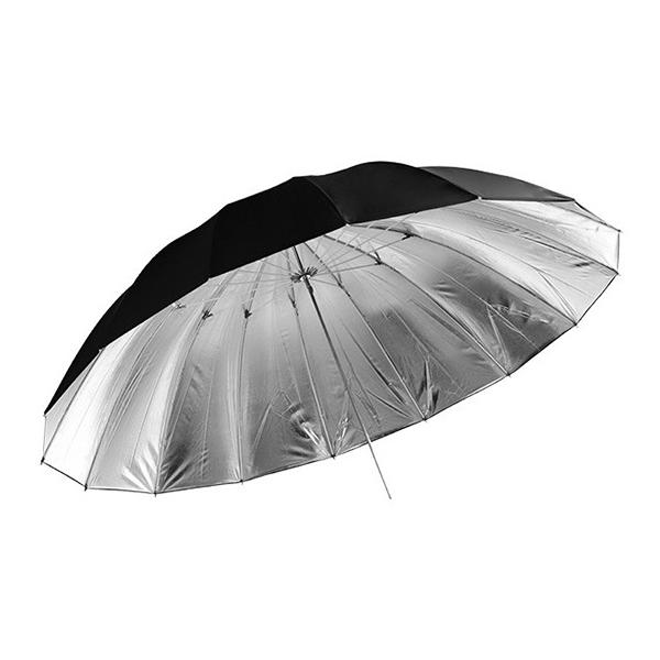 Jinbei Paraguas Negro / Plata 180cm