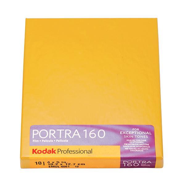 Kodak Película  Portra 160 10x12 Caja 10 Hojas -