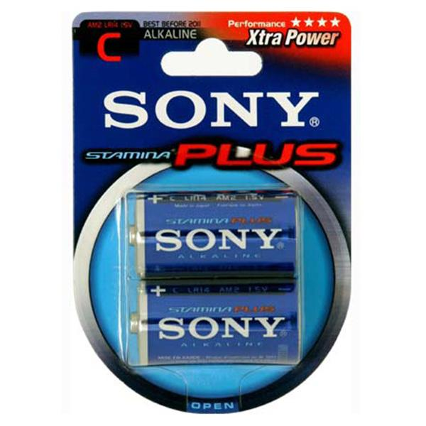 Sony Pila AM2B2A LR14-C 1.5v Blister 2 Alcalina