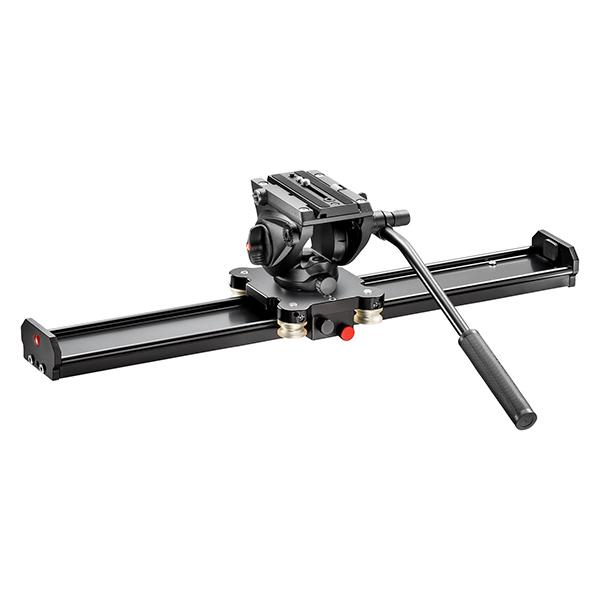 Manfrotto Slider 60cm con rótula MVH500AH -