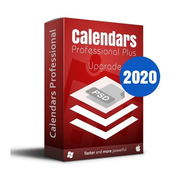SPC Calendars Plus 2020 eLicense Upgrade Win / Mac