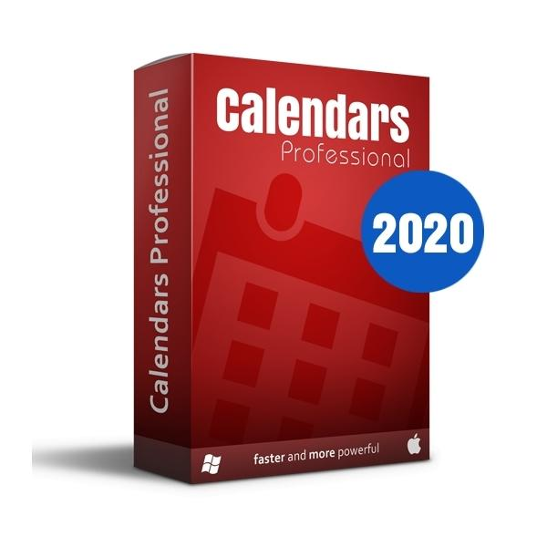 SPC Calendars Pro 2020 eLicense Win / Mac