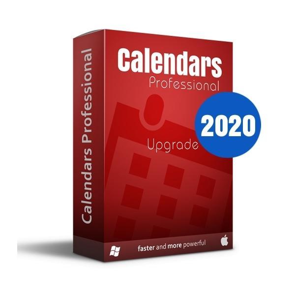 SPC Calendars Pro 2020 eLicense Upgrade Win / Mac -