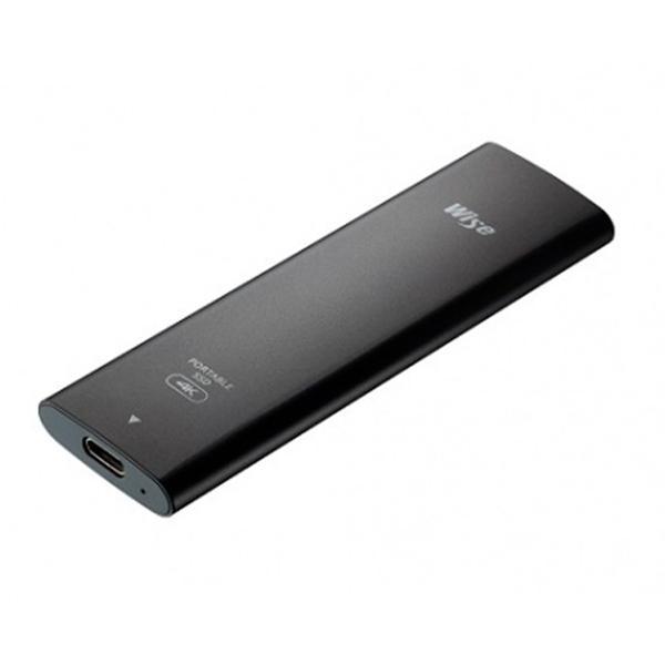 HD SSD Wise 1 TB USB-C 4K, 6K 520 GB/s escritura