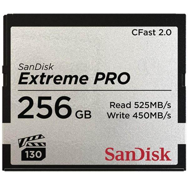 Sandisk CFast Extreme Pro 256GB VPG130 -