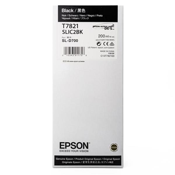 Epson C13T782100 Tinta Negra Surelab SLD-700 220ml