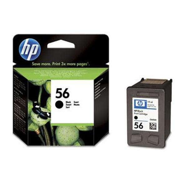 HP Tinta 56 C6656AE Negra 19ml