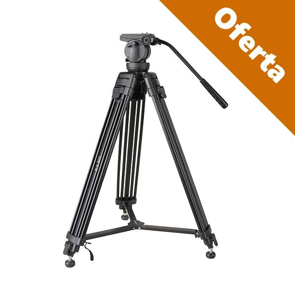 Swiss-Pro Tripode Video Elite V-20 6Kg 210c -