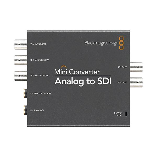 BlackMagic Mini Converter Analogico a SDI