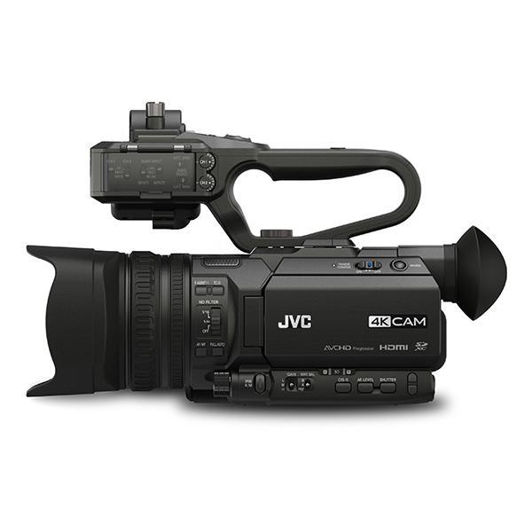 JVC Videocámara HM-170 + ASA HU1 Conectores de Audio