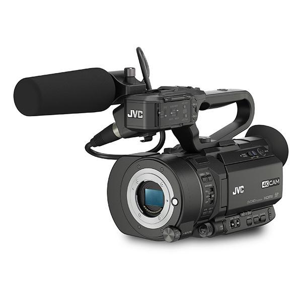 JVC Videocámara GY-LS300E 4K Super 35mm Cuerpo + 12-40mm MFT