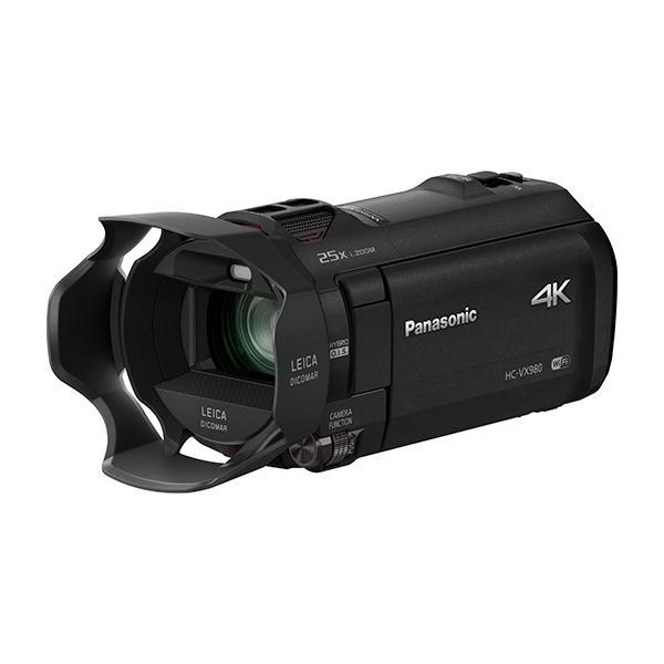 Panasonic VideoCámara HC-VX980EGK 4K 25x WiFi - Con la videocámara Panasonic HC-VX980 4K se crea suaves grabaciones de vídeo gracias a la lente Leica Dicomar y 1 / 2,3 pulgadas tipo de sensor BSI MOS. Disfrutar de una nueva forma de grabar y añadir aún más emoción a sus películas. Con Wi-Fi, puede enlazar hasta tres teléfonos inteligentes y grabar hasta dos de ellos como sub-ventanas. Estas imágenes sub-ventanas pueden ser intercambiados y las posiciones de visualización se pueden conectar. Esto le permite grabar desde diferentes ángulos y posiciones y capturar un mayor nivel de impacto emocional.